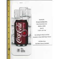Large Coke Size Chameleon Soda Flavor Strip Cherry Coke 12oz CAN