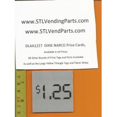 DIXIE Narco 1.25 Price Window Labels