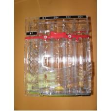 CONLUX 5 Tube Cassette for CCM5G .05, .10, .25, .25, 1.00