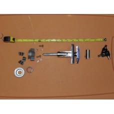 GENESIS Complete T-Handle Lock and 3 keys